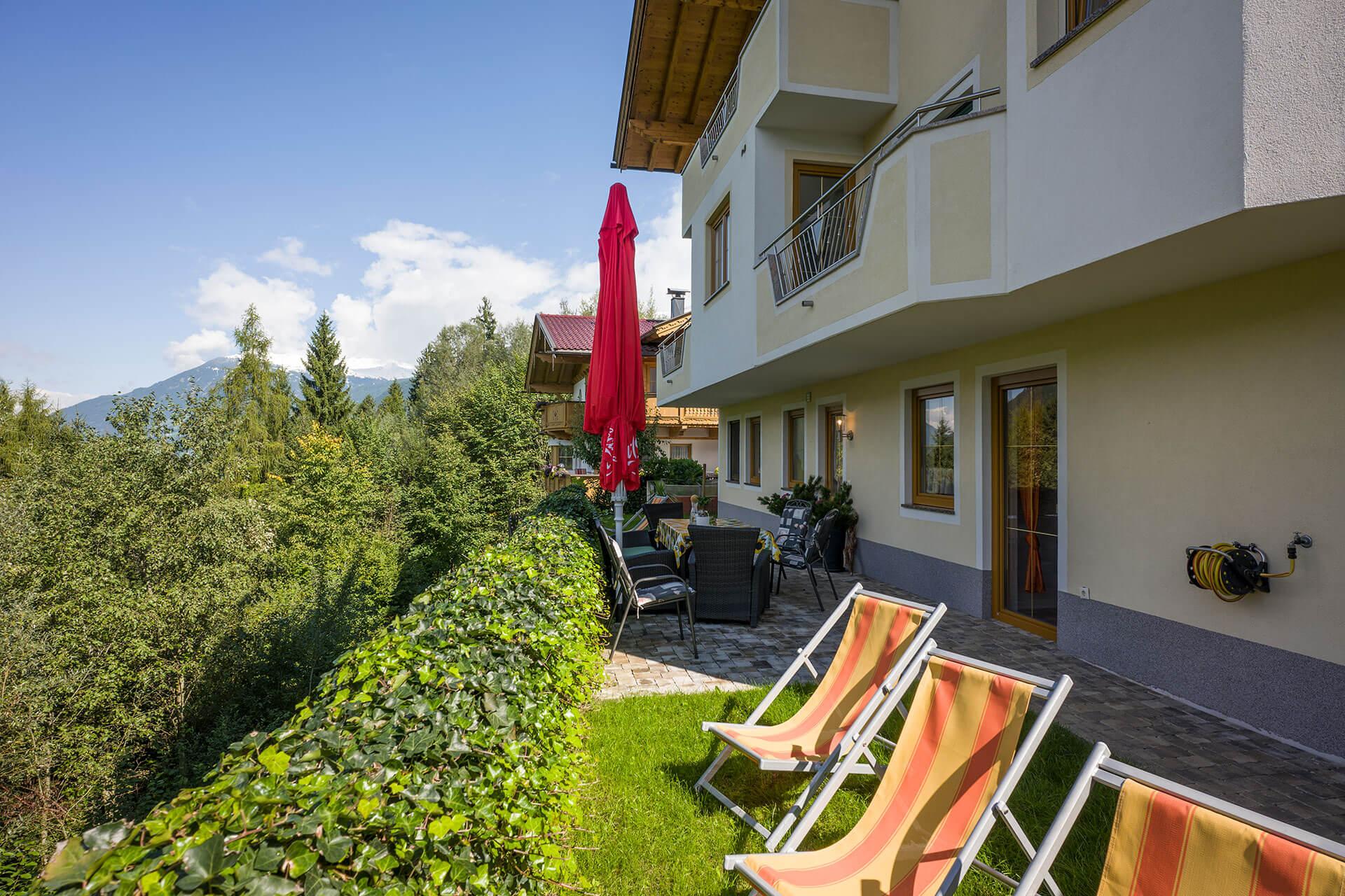 Apartment Fussalm am Hainzenberg im Zillertal