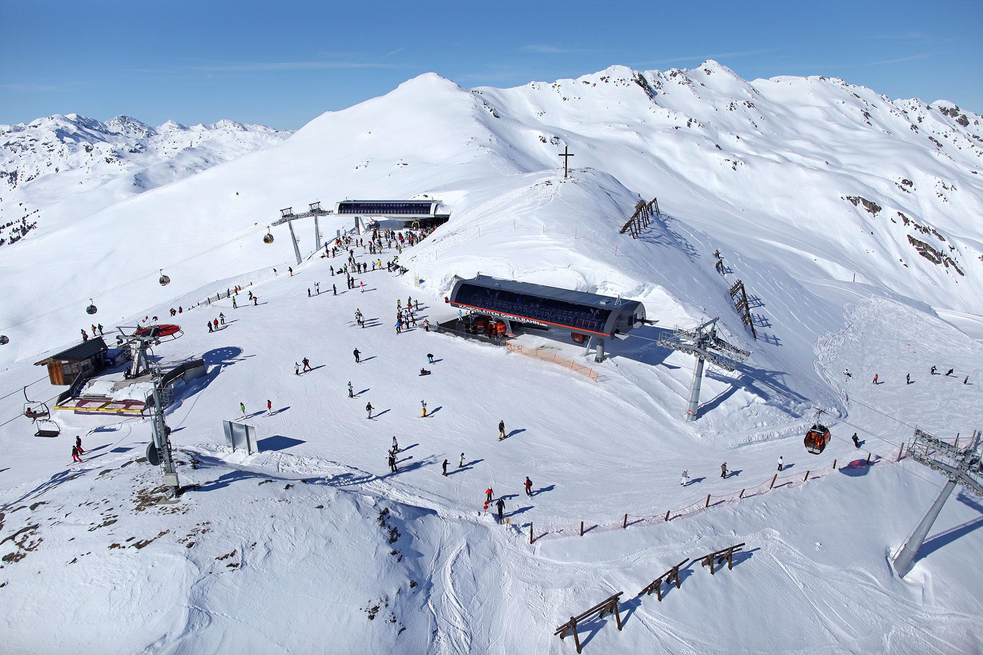 Skigebiet Königsleiten