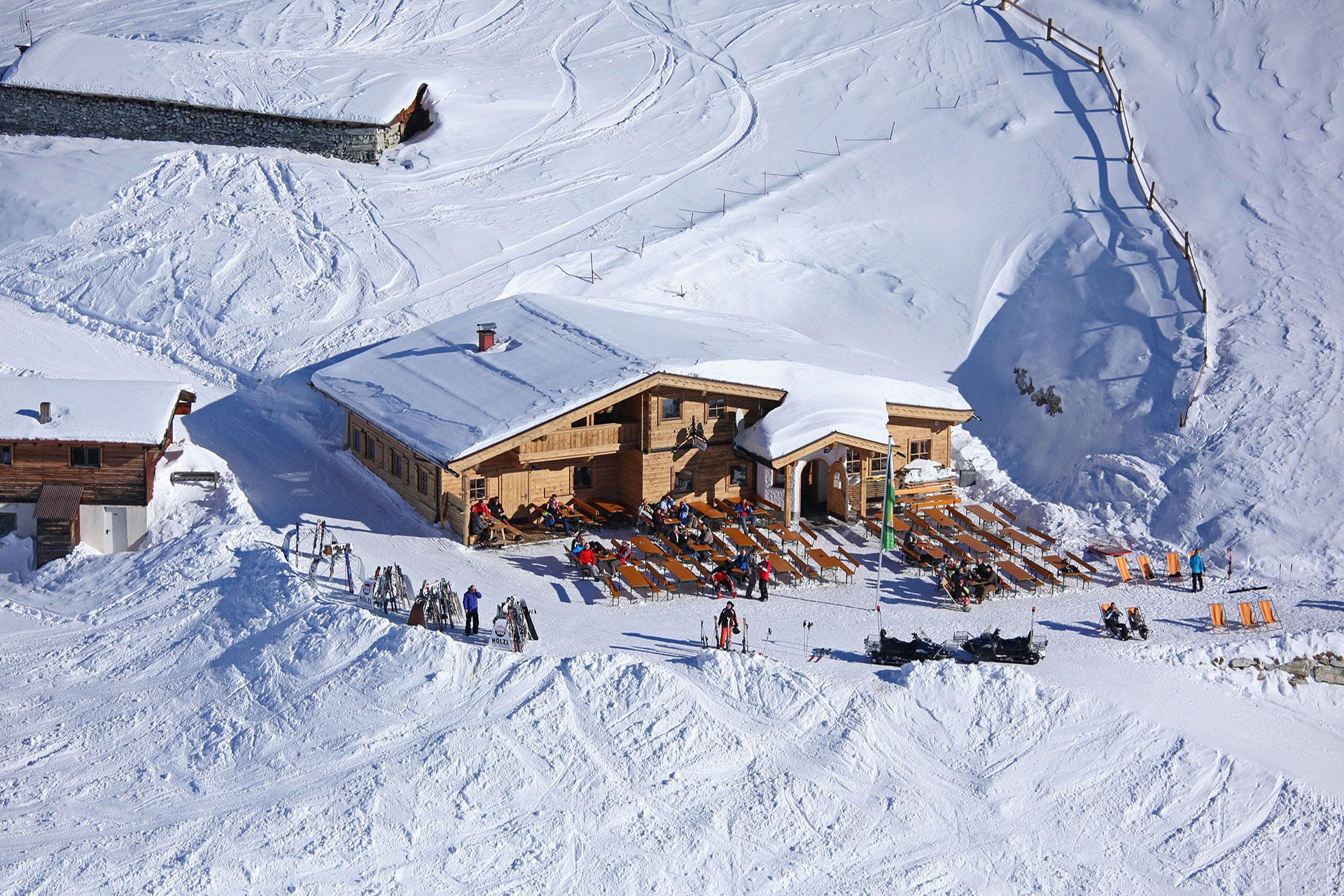 Skihütte Fussalm